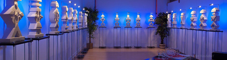 Moderne zeitgenössische Kunst in Berlin - Skulpturen von Alexander Hausdorf in der Zitadelle Berlin