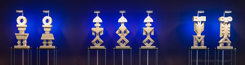 Moderne zeitgenössische Kunst in Berlin - Skulpturen von Alexander Hausdorf im centrovital Berlin